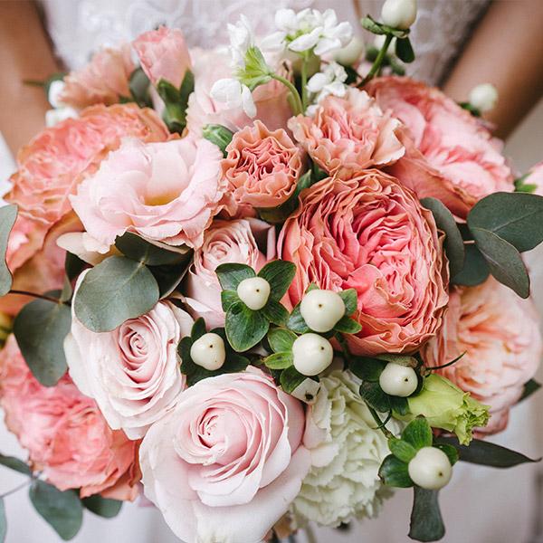 LINDNER Hochzeitsimpressionen Brautstrauss