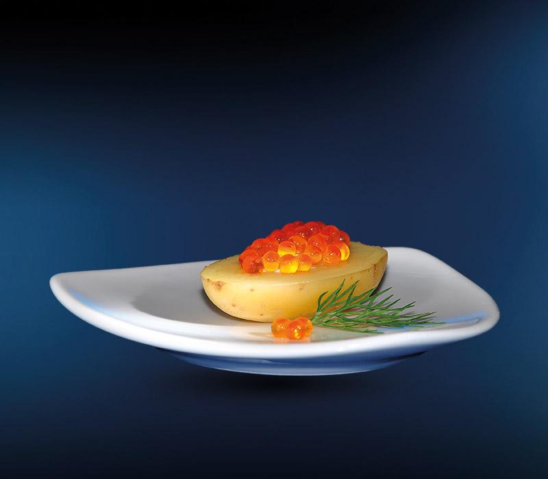 LINDNER Fingerfood Forellenkaviar auf Minikartoffel