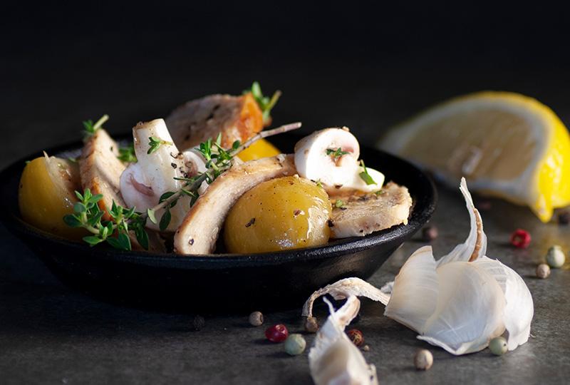 LINDNER Hähnchensalat