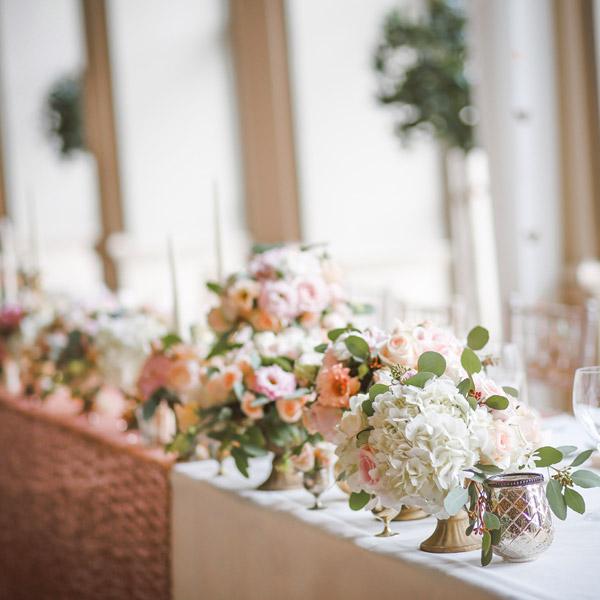 LINDNER Hochzeitsdekoration Blumen