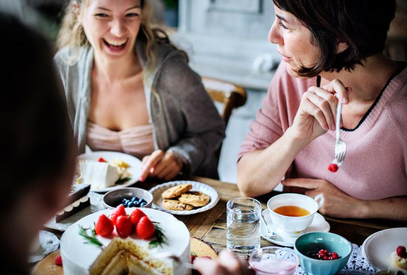 LINDNER Kaffee-Nachmittag mit Freunden