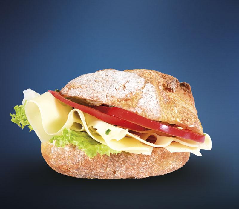 LINDNER Steinofenbrötchen Käse