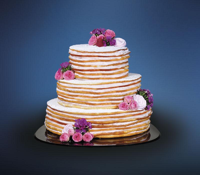 LINDNER Fresh Flower Naked Cake