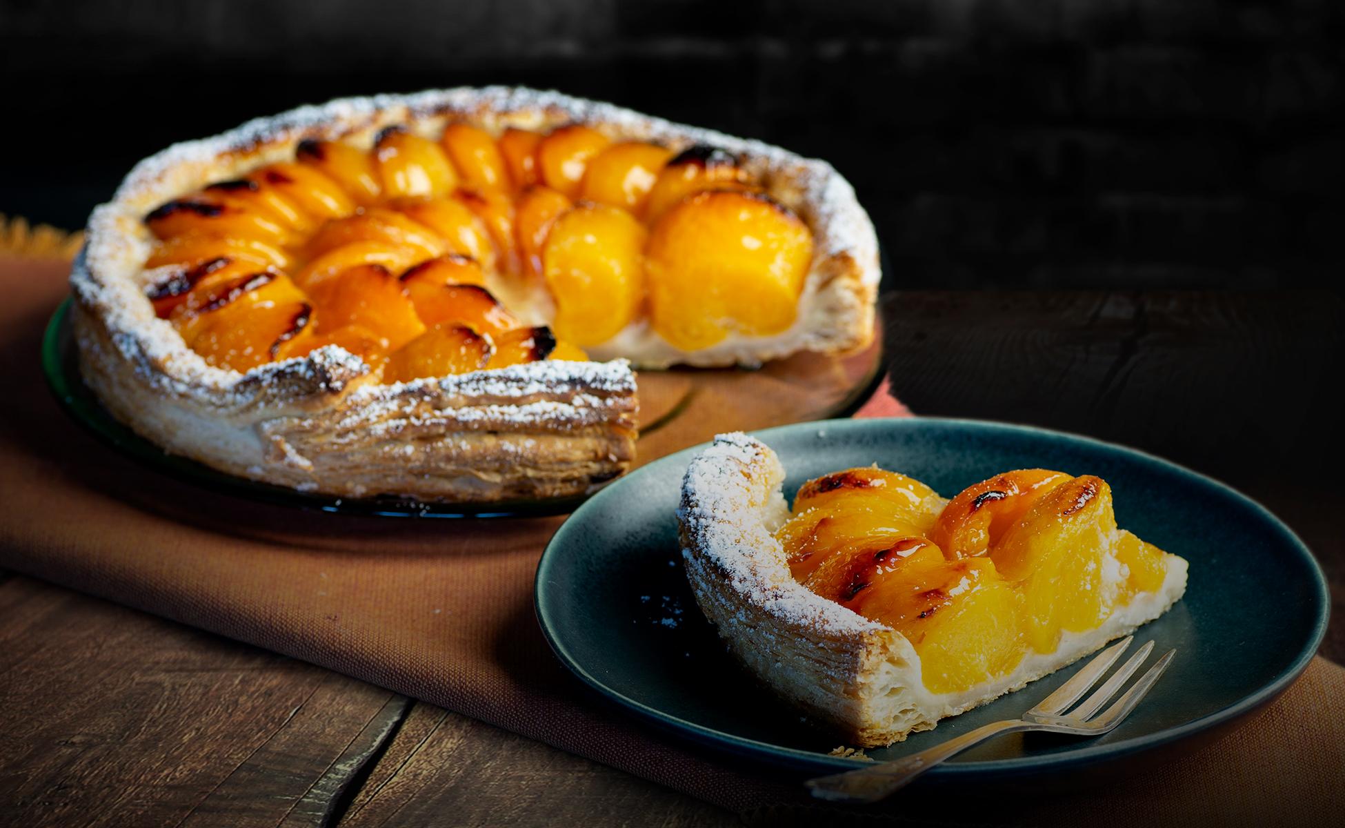 Aprikosen-Blätterteig-Tarte