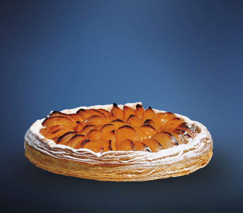 LINDNER Aprikosen-Blätterteig-Tarte
