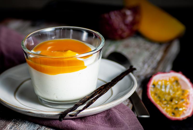 LINDNER Vanillequark Mango-Passionsfrucht