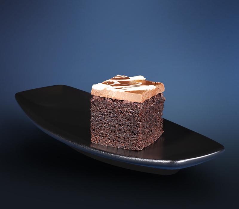 Mini Kuchen - Brownie Nougat