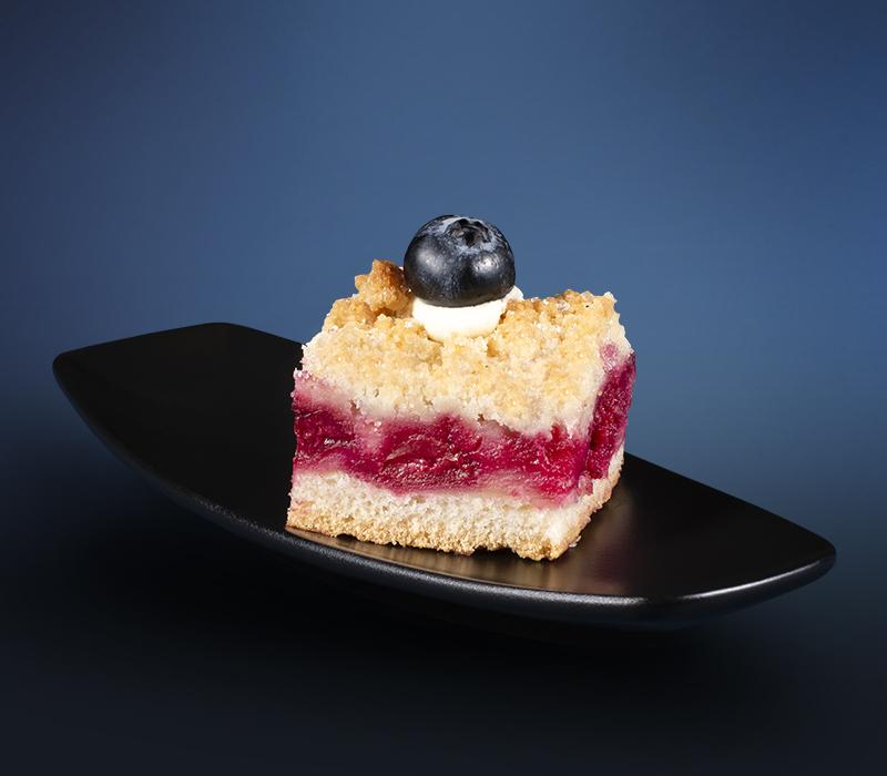 Mini Kuchen - Obststreuselkuchen
