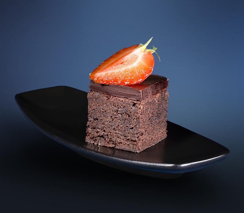 Mini Kuchen - Brownie Schokolade