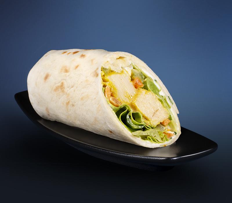 Mini-Wrap - Tikka-Chicken