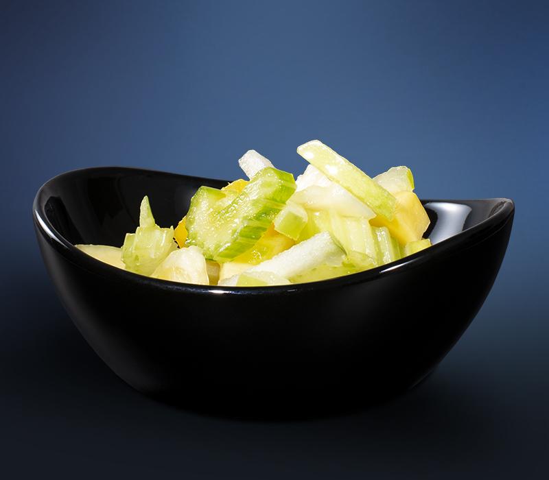 Apfel Mango Sellerie Salat