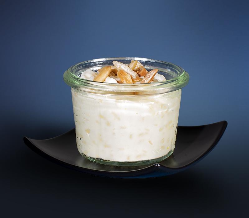 Milchreis im Mini-Weckglas