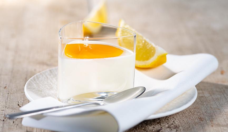 Bayerischer Abend - Buttermilch-Zitronenmousse